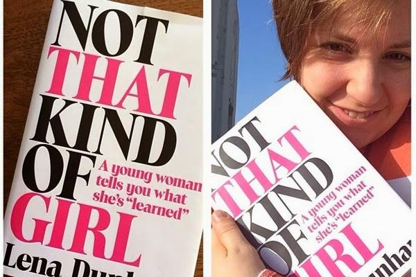 Lena Dunham, feliz con su libro. Twitter de Lena Dunham