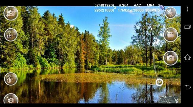Aplikasi kamera android untuk merekam video berkualitas tinggi
