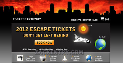 ESCAPE EARTH 2012