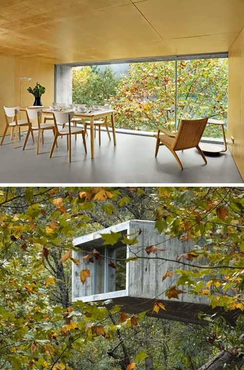 Peneda Geras Contemporary Riverfront House Design