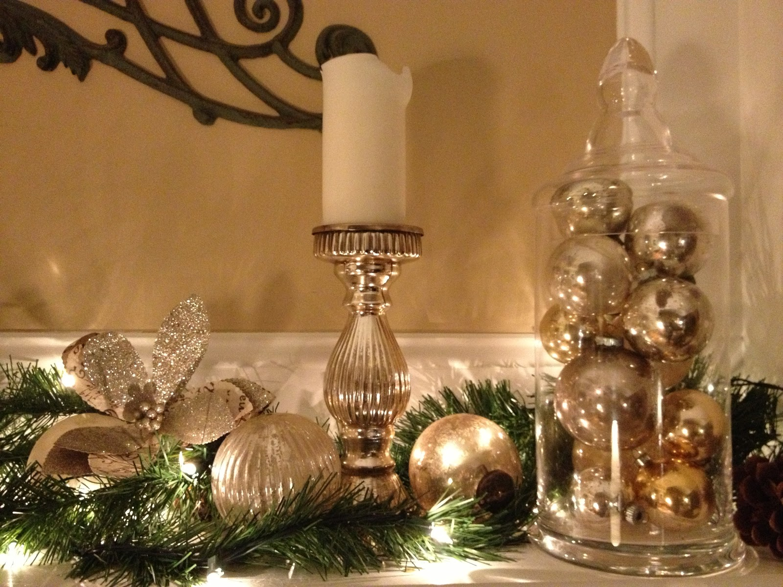 Decor Amore: Christmas Mantel Decorations