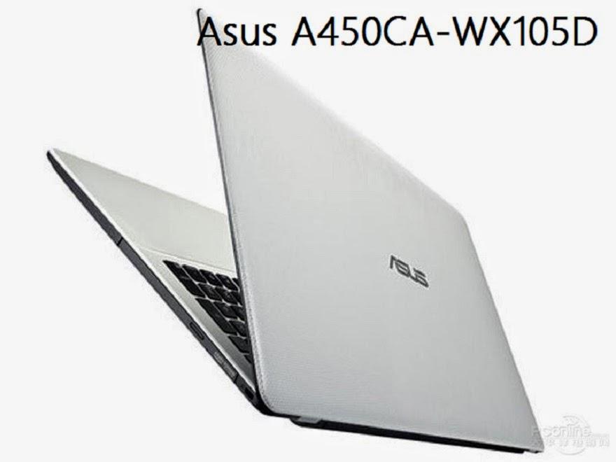 Spesifikasi Asus A450CA I3
