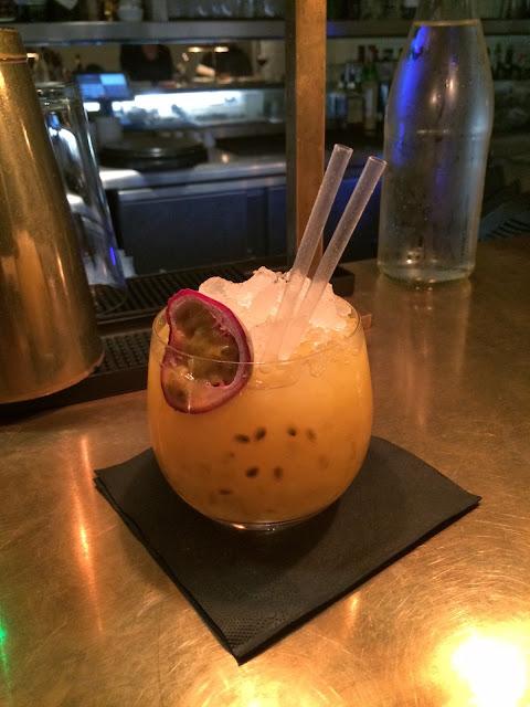 nopi passion fruit cocktail