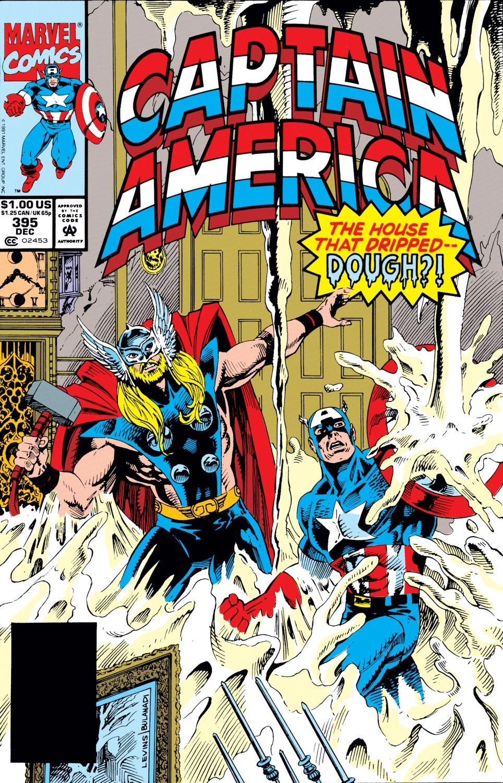 Captain America (1968) Issue #395 #328 - English 1