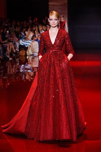 Elie Saab 2013 sonbahar-kış haute couture