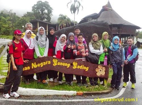 Refflesia tuan mudae di Gunung Gading Sarawak