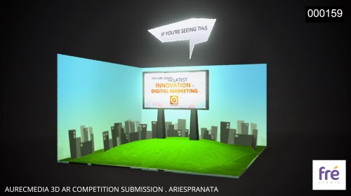 Aurecmedia: Augmented Reality Submission | ariespranata
