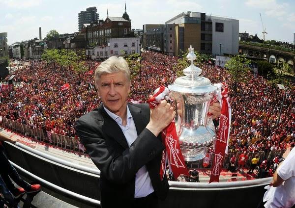 Arsene Wenger di Liga Inggris