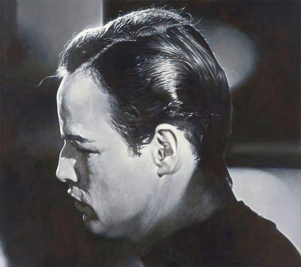 Marlon Brando - New Pop Realism - Sebastian Krüger 1963
