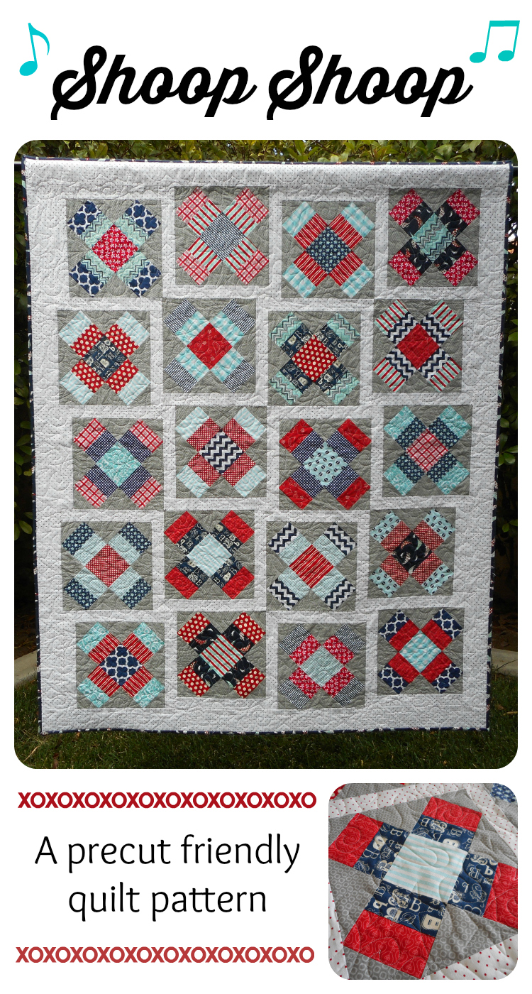 New Quilt Patterns For 2015 : ~ Zany Quilter ~: Shoop Shoop...A New Quilt Pattern!