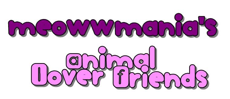 meowwmania's animal lover friends