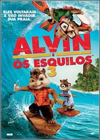 capa Filme Alvin e Os Esquilos 3 DVDRip AVi + RMVB Dublado