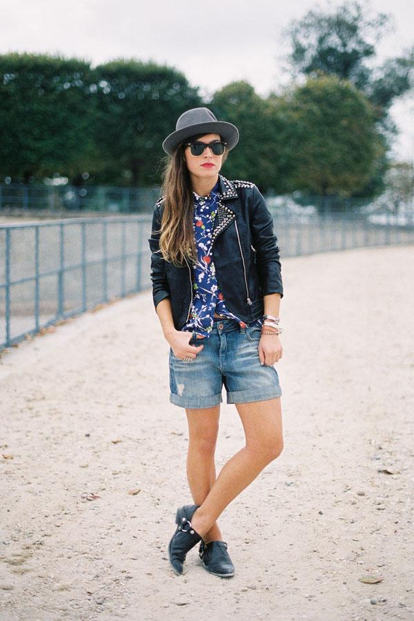 MY FASHION TRICKS: Denim shorts!!