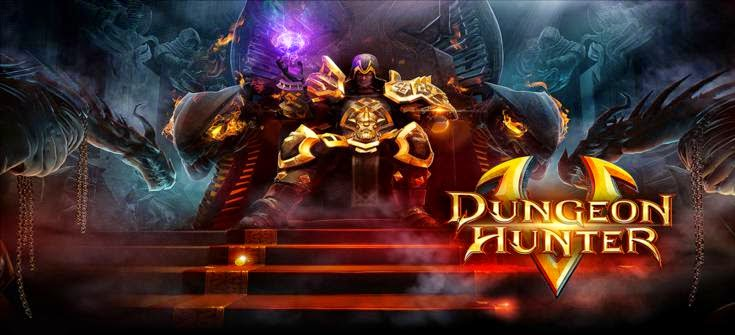 Download Dungeon Hunter 5 Apk + Data