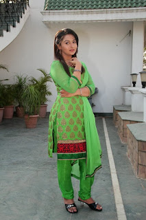 Actress Divya Prabha Picture Gallery in Green Salwar KameezBarrister Shankar Narayan Movie  0016.jpg