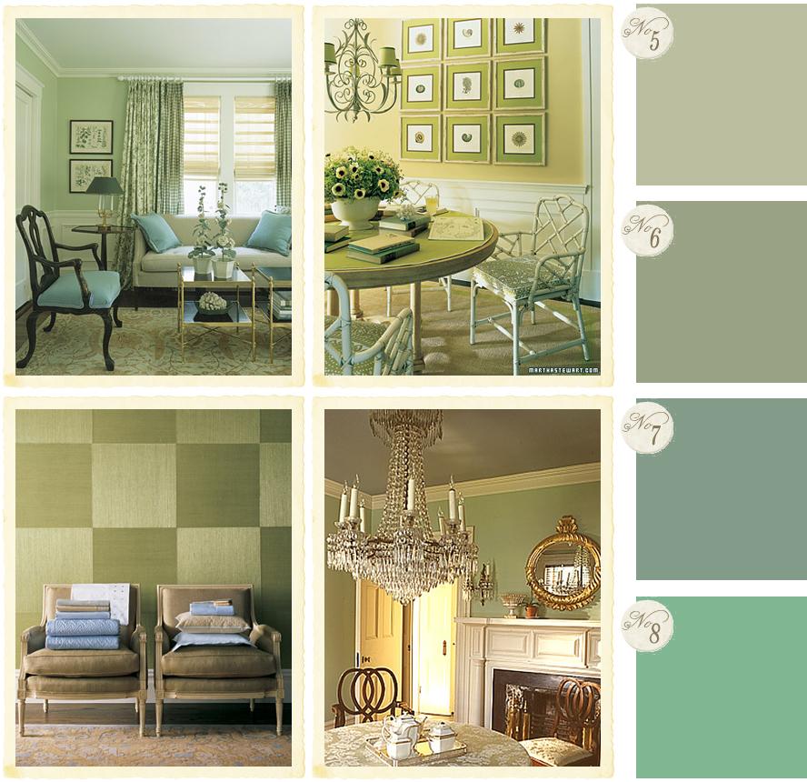I colori per lo studio shabby chic interiors - Colori pareti cucina shabby chic ...