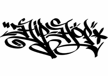 Black Style Hip Hop Graffiti Sketches