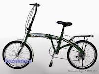 Sepeda Lipat Viva Cycle Hawk 6 Speed 20 Inci