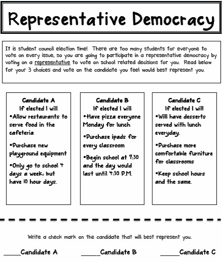 what is representative democracy pdf