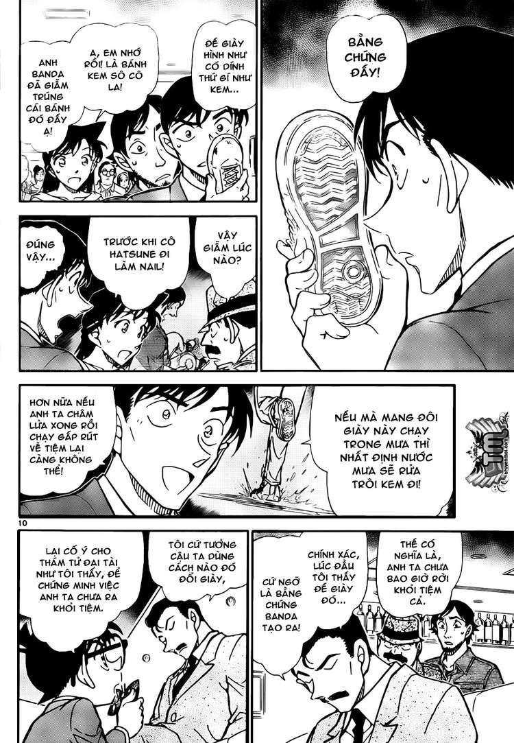 Detective Conan - Thám Tử Lừng Danh Conan chap 795 page 10 - IZTruyenTranh.com