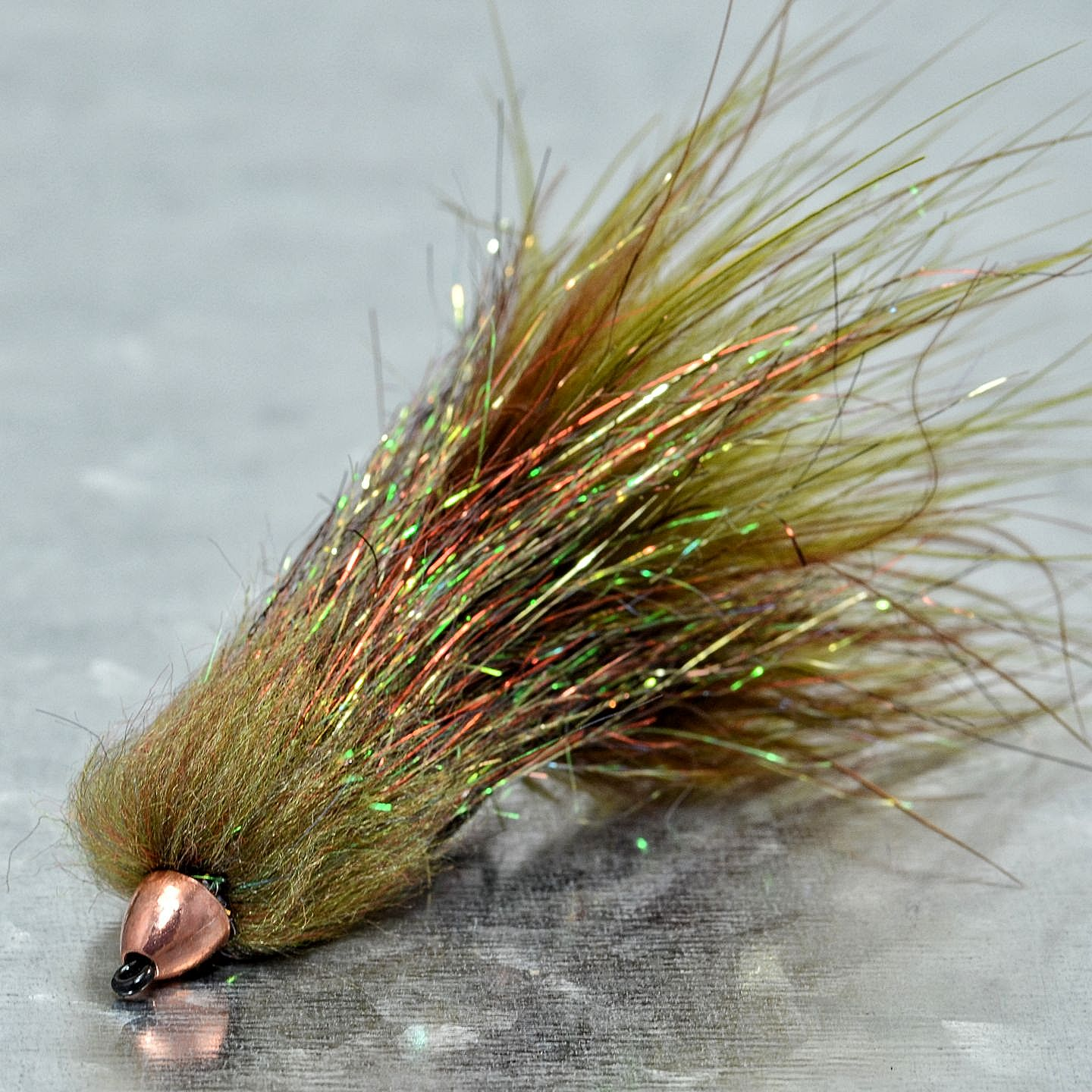 Sparkle minnow variation fly fish food fly tying and for Fly fishing tying