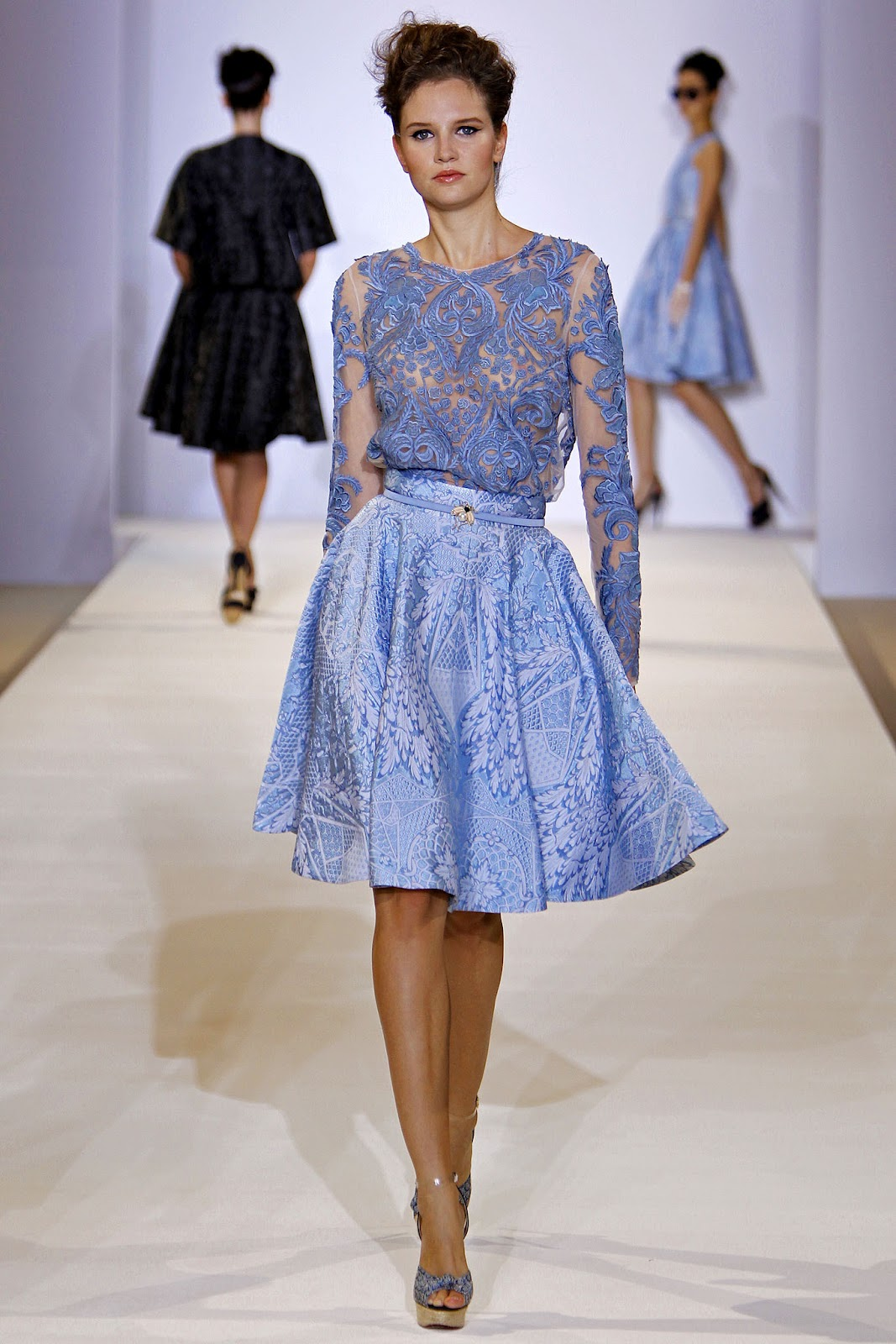 London Fashion Week Spring Summer 2013 : Temperley London