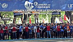 FOTOS CARRERA POR LA EDUCACION 3K y 10K UNICEF 10-03-2013 Buenos Aires