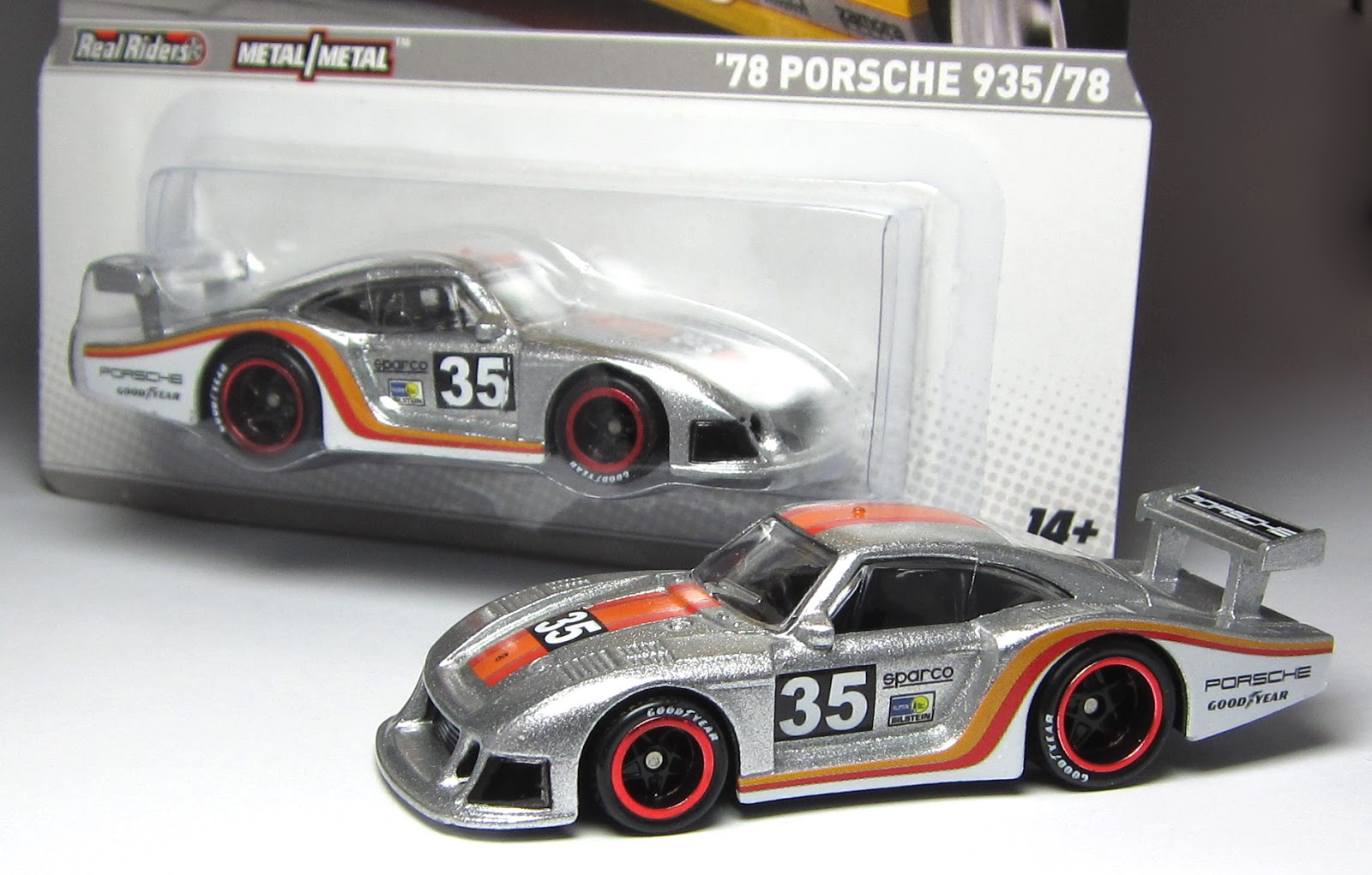 car lamley group first look hot wheels racing 39 78 porsche 935 78. Black Bedroom Furniture Sets. Home Design Ideas