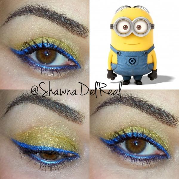 Shawna Make Despicable Inspired Eye Shadow