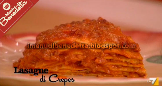 Lasagne di Crepes di Benedetta Parodi