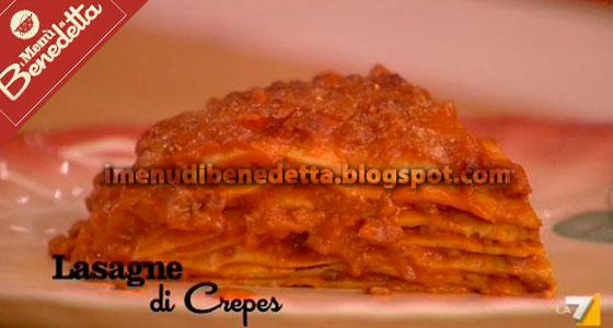 Lasagne di Crepes di Benedetta Parodi
