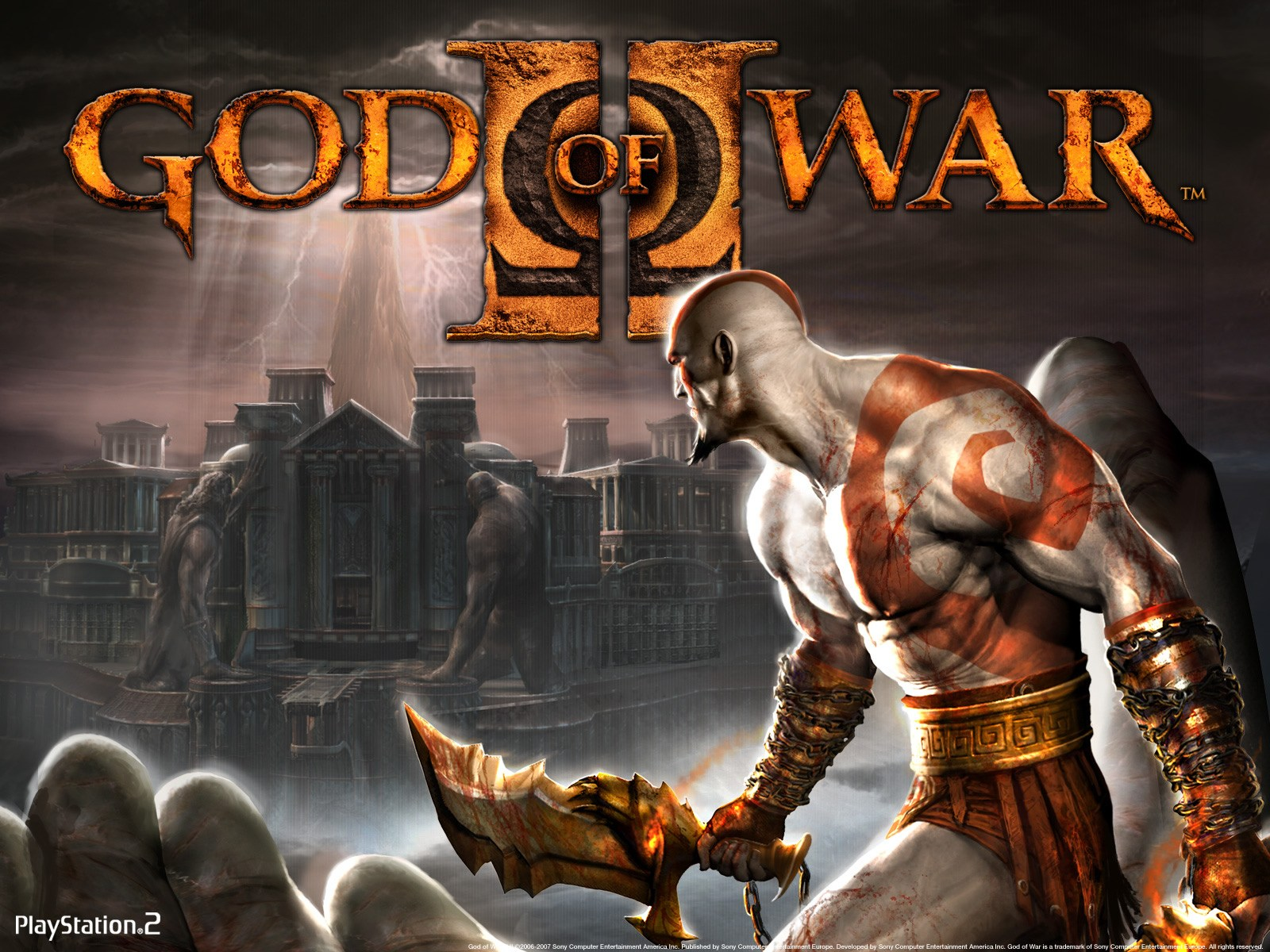 God of War 2 RIP