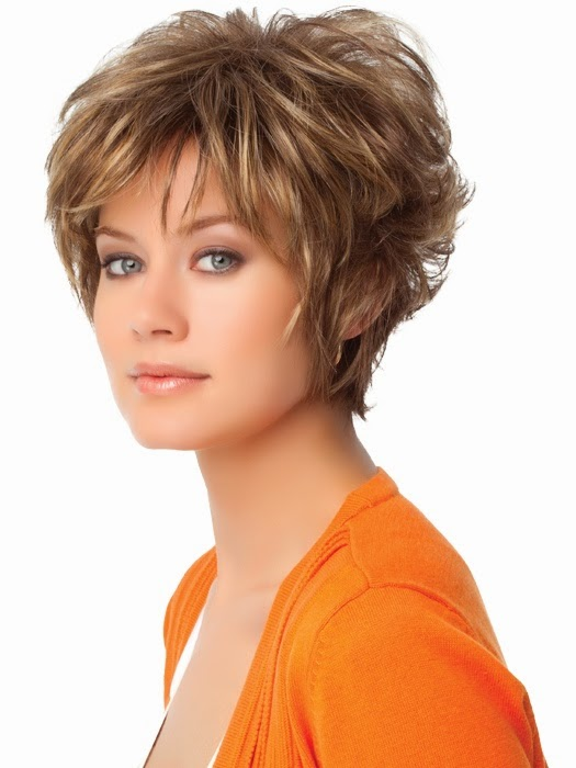 Short hairstyle for fine hair trendy short hairstyle fine hair