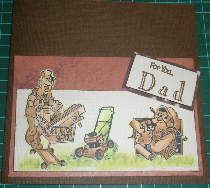 "Copic card ""Fathers Day"""