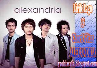 Lirik Lagu dan Chord Gitar Alexandria Cinta Sempurna