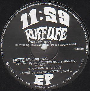 11:59 – Ruff Life EP (1993, UK) 12'' – 192