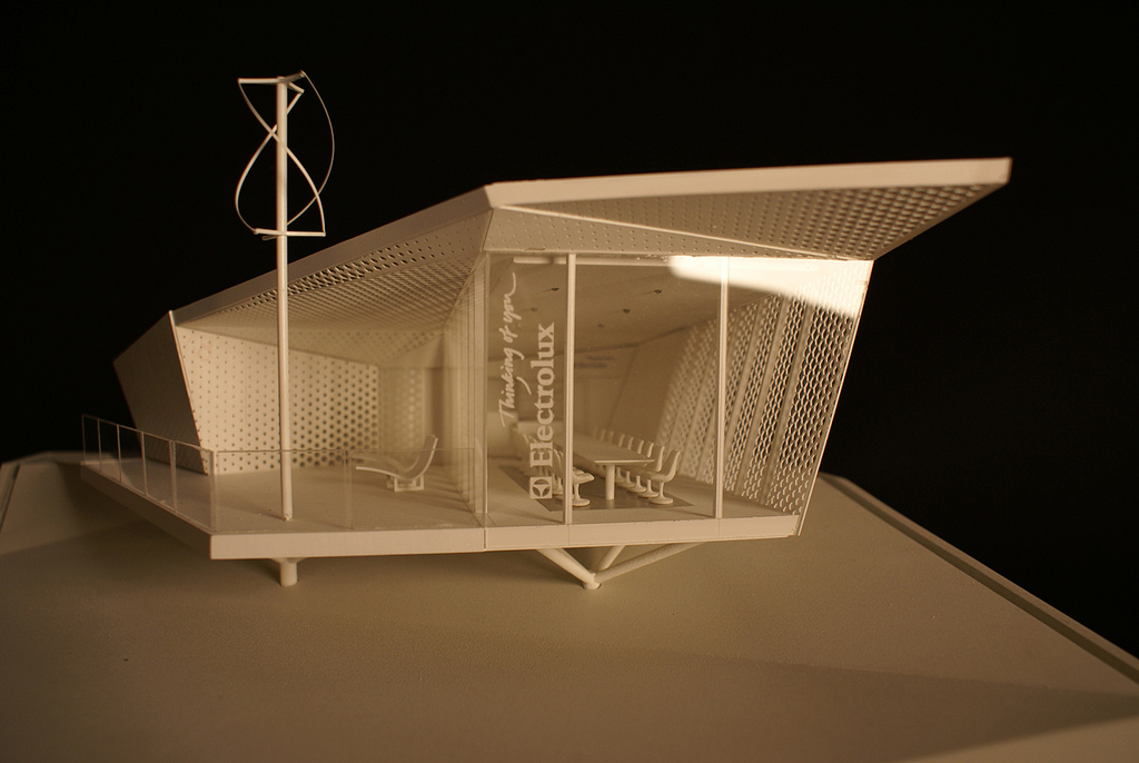 Tlc the cube by electrolux for Architecture house models