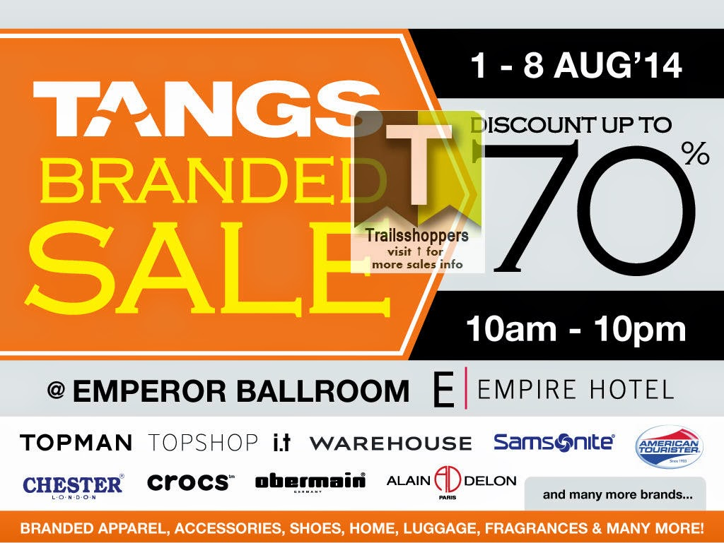 TANGS Branded Sale 2014 empire hotel subang jaya selangor