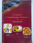 A LEARNERS COMPREHENSIVE DICTIONARY OF INDONESIAN