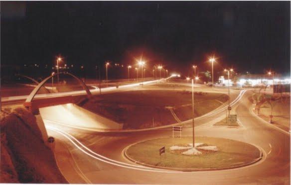 Vista Noturna Trincheira  Nova Serrana
