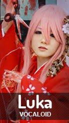 Cosplay Megurine Luka - ver. Enbizaka no Shitateya de Vocaloid por Kessy