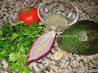 Guacamole - Sos de avocado ingrediente reteta