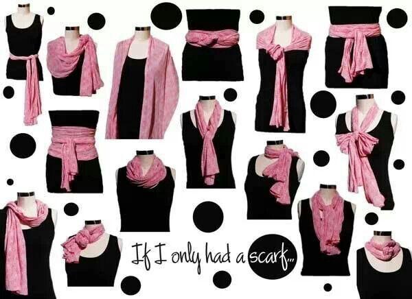 Si tuviera tan solo una bufanda... / If I only had a scarf