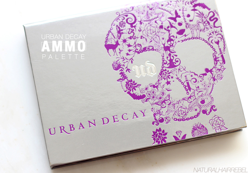 Urban decay palette via natural hair rebel