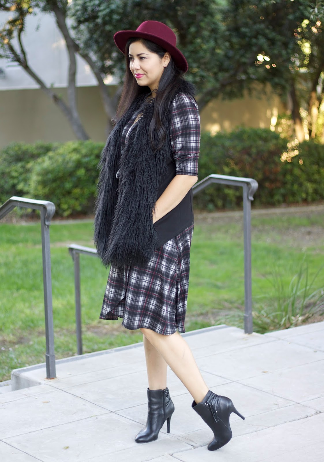 Karina Dresses, Karina Dresses plaid, fall fashion 2015, fall style 2015, socal fashion blogger