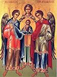 rogai por nós Arcanjo Miguel, Arcanjo Gabriel e Arcanjo Rafael