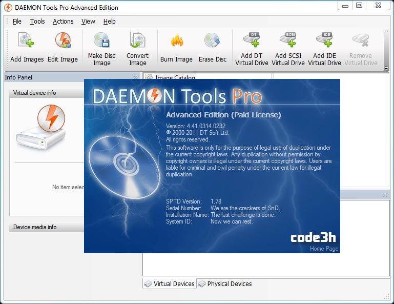 Daemon tools pro advanced 5.3.0.0359 final