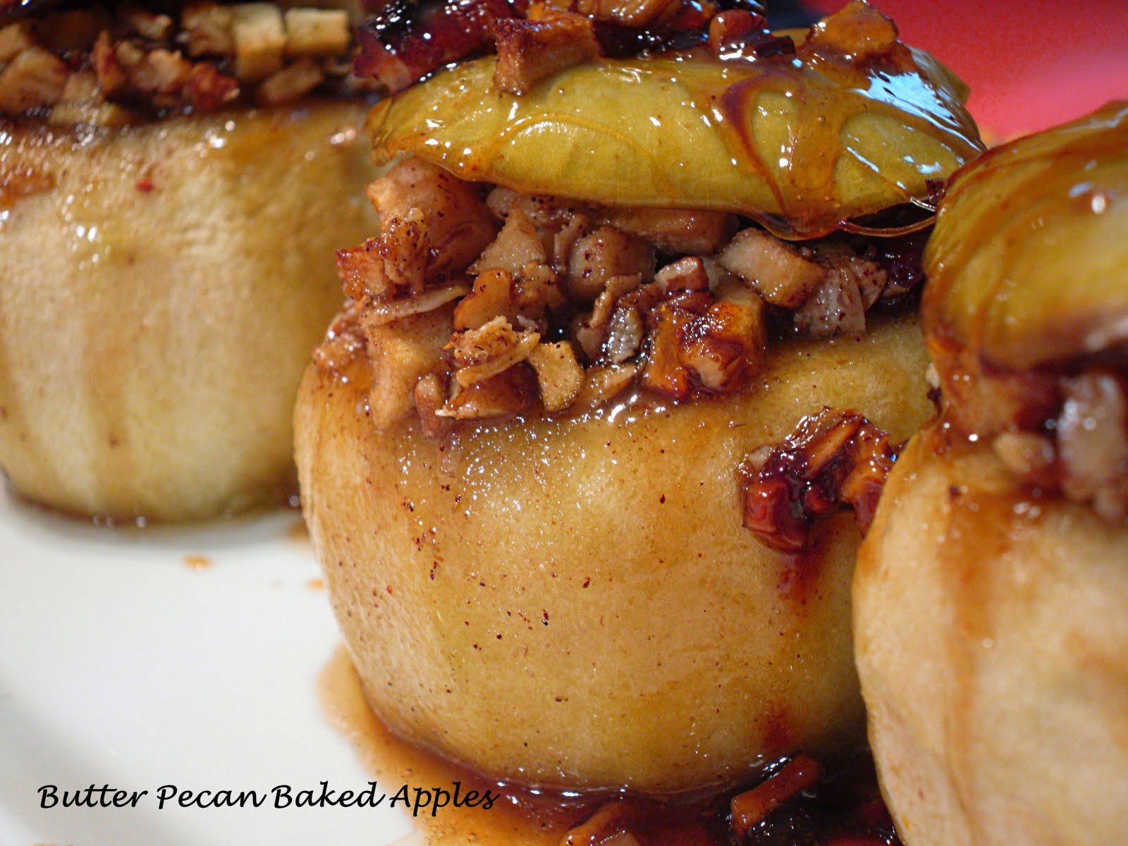 Baked Apples Recipe — Dishmaps