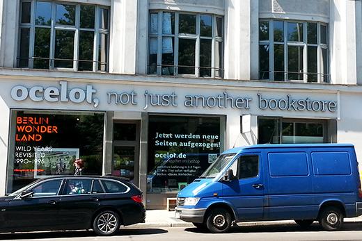 Ocelot Bookstore Buchhandlung Berlin Shoppingtipps Travelguide Bücher Holunderweg18 Foodblog