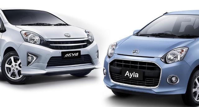 Perbedaan Mobil Toyota Agya dan Mobil Daihatsu Ayla